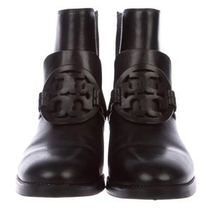 Tory Burch Miller Black Leather Boots